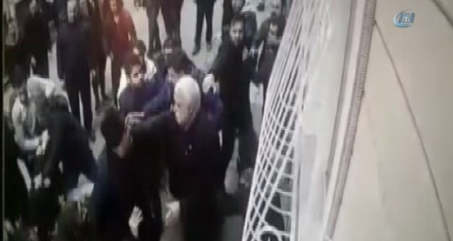 Fatih'te park kavgası