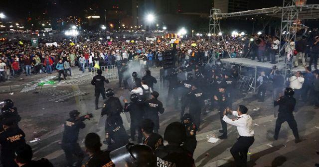 Meksika'da petrole zam halkı sokağa döktü