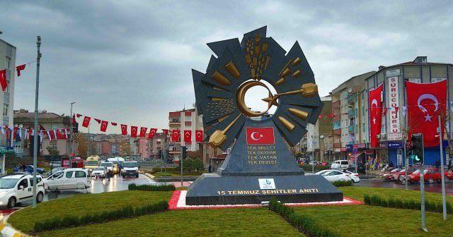 Şehitler için 15 Temmuz anıtı açıldı
