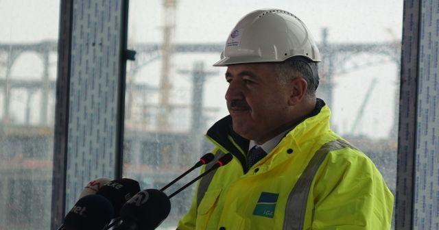 Ulaştırma Bakanı Arslan: 'Atatürk Havalimanı kademeli olarak kapatılacak'