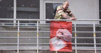 Bayrak asan dayı referandumda evet diyecek