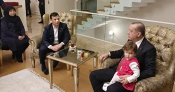 Cumhurbaşkanı Erdoğan'dan burnu kırılan vekile ziyaret
