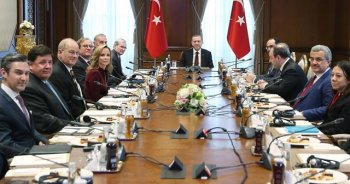 Cumhurbaşkanı Erdoğan'dan önemli kabul
