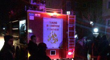 Elazığ'da korkutan yangın, 3 yaralı