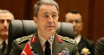 Hulusi Akar Brüksel'de NATO toplantısına katıldı