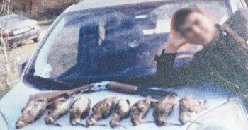 Kaçak avladığı ördeğin fotoğrafını paylaştı, cezayı yedi