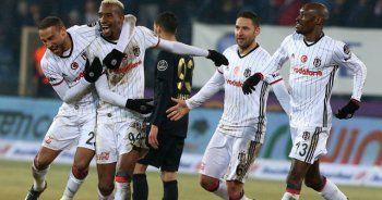 Beşiktaş, Osmanlıspor'u 2 golle geçti