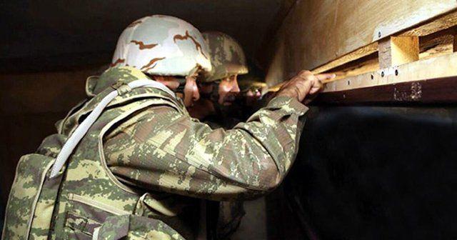 Azerbaycan ordusu Ermeni keşif ve sabotaj timini imha etti