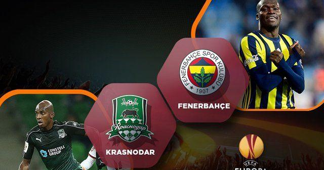 Krasnodar Fenerbahçe maçı geniş özeti ve golleri | KRASNODAR FB MAÇI ÖZET izle