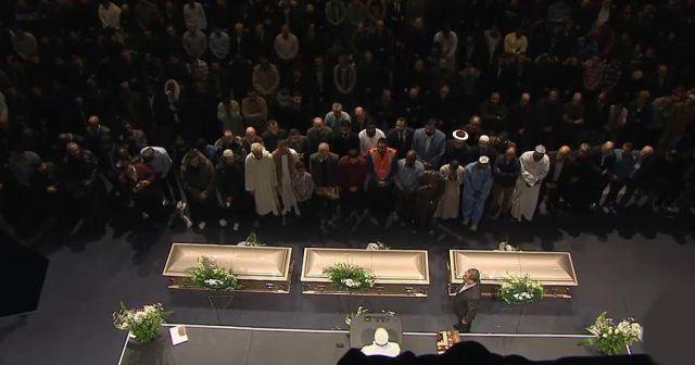 Kanada'daki cami saldırısında yaşamını yitirenler için tören