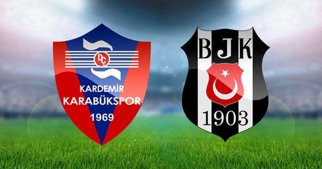 Karabükspor ve Beşiktaş maçı saat kaçta hangi kanalda | Beşiktaş maçı öncesi flaş başvuru