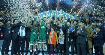 Banvit Anadolu Efes'i 75-66 yenerek kupanın sahibi oldu