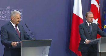 Başbakan Yıldırım'dan Malta'da önemli açıklama: Daha hızlı adım atın