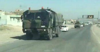 Başika'da yoğun askeri hareketlilik, askeri araçlar bölgeye intikal etti