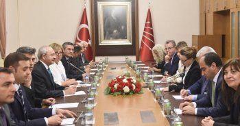 Kılıçdaroğlu Alman heyeti ile görüştü