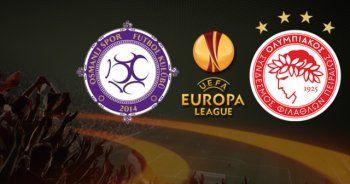 Olympiakos 0-0 Osmanlıspor Maçı Geniş Özeti ve Golleri (Olympiakos Osmanlıspor Özeti)