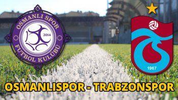 Osmanlıspor 0-1 Trabzonspor maçı Özeti ve Golleri (OSMANLI, TS MAÇI SKORU, GENİŞ ÖZETİ)