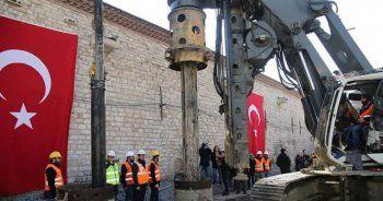 Taksim Camiinin temelini Topbaş ve Demircan attılar