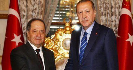 Barzani'nin ofisinden açıklama, Erdoğan ve Barzani ne görüştü?