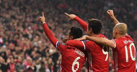 Bayern Münih Şampiyonlar Ligi'nde turnuva tarihinin rekorunu kırdı