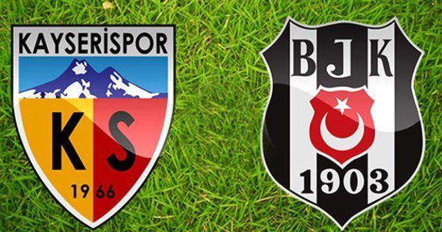 Beşiktaş Kayserispor maçı full özeti ve golleri İZLE | BJK Kayseri maçı kaç kaç sona erdi?