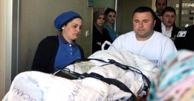 Eşarbını makineye kaptıran ıraklı kız ölümden döndü