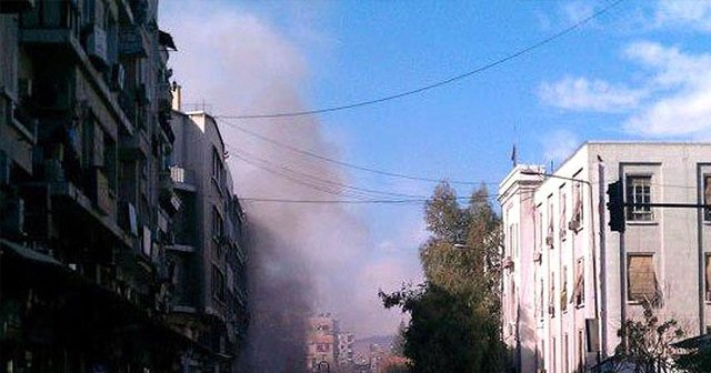 Şam'da canlı bombalı saldırı