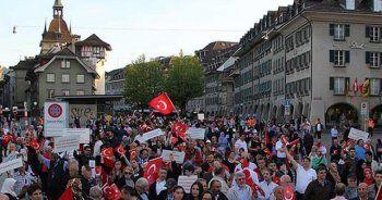 'Biz vatan için millet için devlet için evet diyoruz'