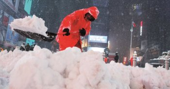 ABD'de fırtına nedeniyle OHAL ilan edildi