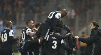 Beşiktaş deplasmanda Olympiakos ile berabere kaldı