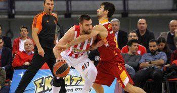 Galatasaray Odeabank Olympiakos maçını 71-80 kazandı