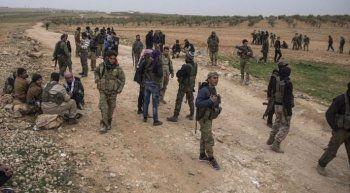 ÖSO ve YPG arasında şiddetli çalışmalar sürüyor