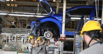 Sanayi üretim endeksi yüzde 2,6 arttı