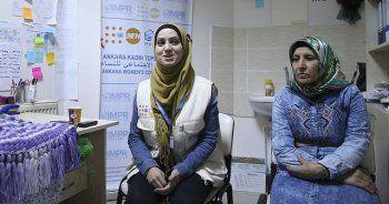 Sığınmacı kadınlar Türkiye'de hayata tutundu