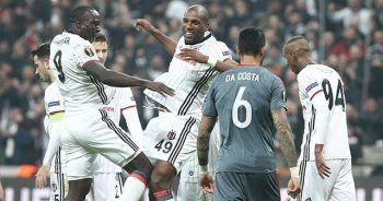 Vodafone Arena'da tarihi zafer! Beşiktaş çeyrek finalde