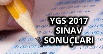 YGS Sınav Sonuçları 2017 Burada ÖSYM Tarafından açıklandı SORGULA