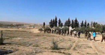 YPG zorda, jet hızıyla kaçıyorlar