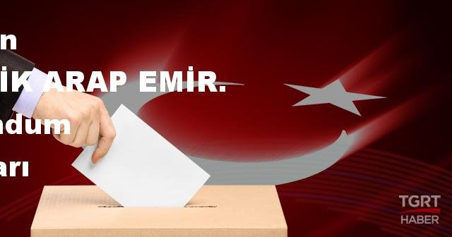 BİRLEŞİK ARAP EMİR. 2017 referandum seçim sonuçları | BİRLEŞİK ARAP EMİR. oy sonuçları! | Evet - Hayır oranı