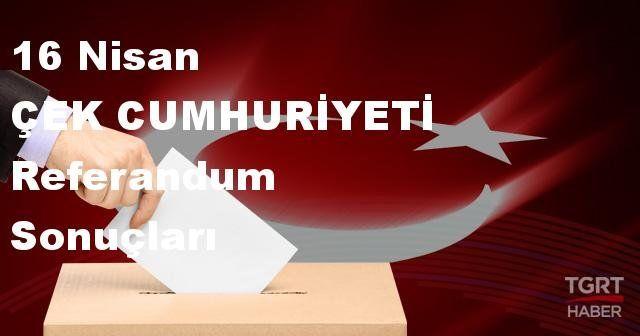 ÇEK CUMHURİYETİ 2017 referandum seçim sonuçları | ÇEK CUMHURİYETİ oy sonuçları! | Evet - Hayır oranı