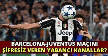Barcelona Juventus maç özeti | BARCA JUVE gol pozisyonları