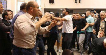 Makedonya Meclisinde olaylar çıktı