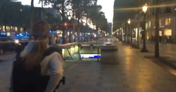 Paris'te silahlı çatışma: 2 polis öldü