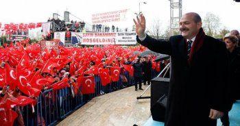 Süleyman Soylu: Güçsüzlükle terörle mücadele olmaz