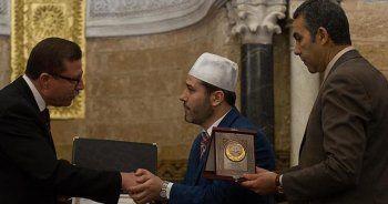 Türk hafız Tunus'taki yarışmada üçüncü oldu