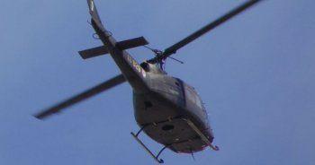 Yunan ordusuna ait helikopter düştü!