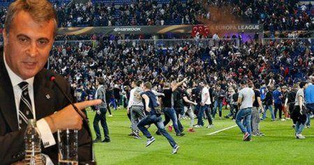 Fikret Orman açıkladı! Lyon taraftarı Vodafone Arena'da yok