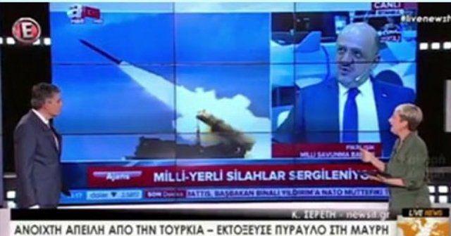 Türkiye'nin füzesi Yunanistan'ı korkuttu!