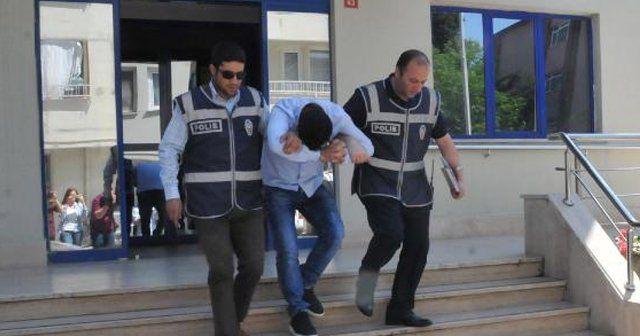 Türkmen genci tehdit eden şahıs yakalandı