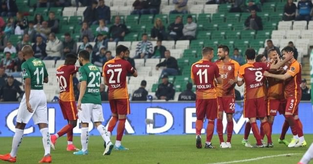 Galatasaray deplasmanda Bursa'yı farklı geçti: 5-0