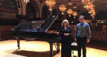 Efsane Türk Piyanist Chicago sahnesinde